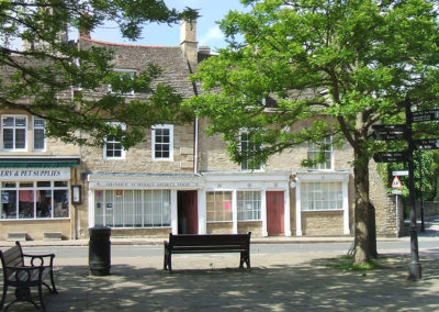 Market Square in Oundle