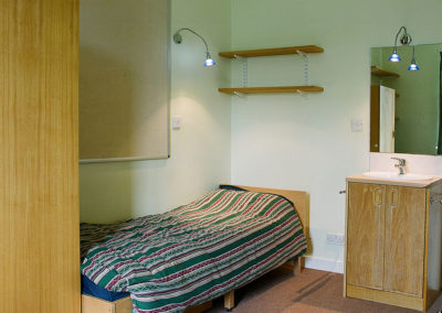 Typical bedroom - accommodataion