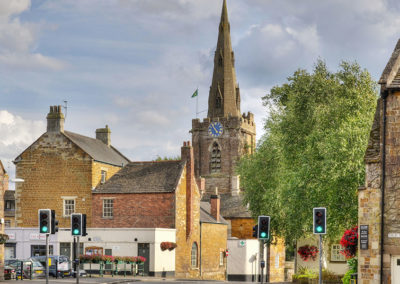 Beautiful Uppingham town centre