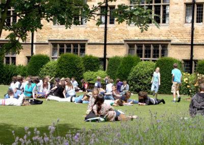 Uppingham school grounds