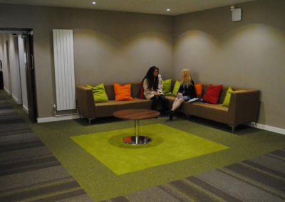 Common areas to meet and relax in houses