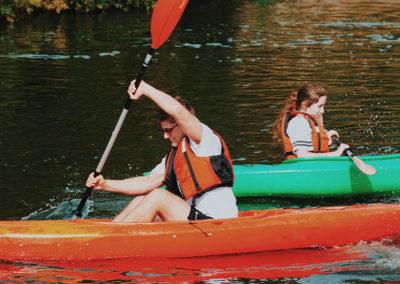 Facilities -Kayaking activities option