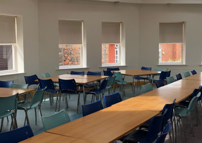 Canteen dining space